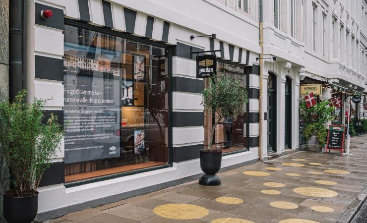 Showroom giver indretningsdrømmene substans hos landets største ejendomsvirksomhed