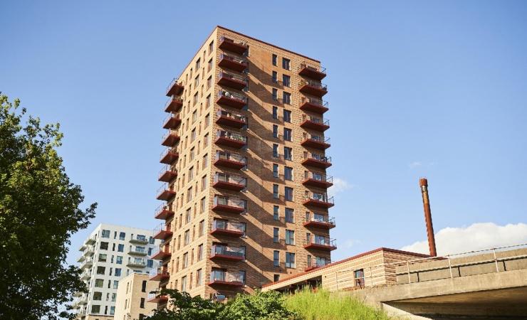 Tre blandede byggerier fra samme boligforening præmieres