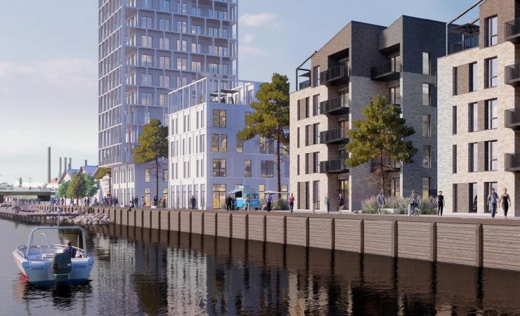 Havnefronten i Vordingborg får byens første friplejehjem