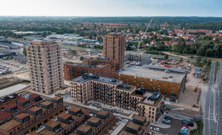 Flere boliger klar til indflytning i boom-town Hillerød