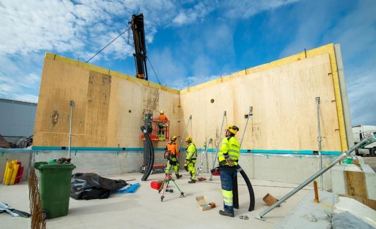 Beton og træ smelter sammen i ny elementtype
