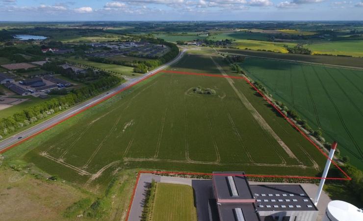 Logistik- og lagercenter på 45.000 m2 bygges til en kvart mia. kr.