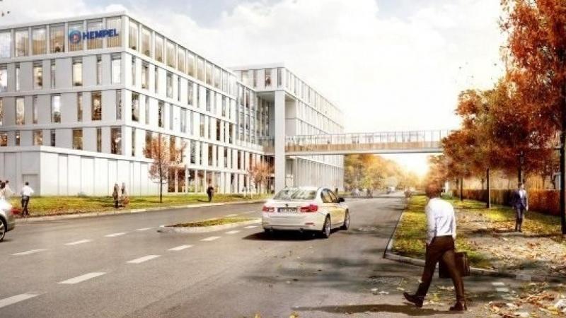 Udvidelsen af Hempels hovedkontor fortsætter