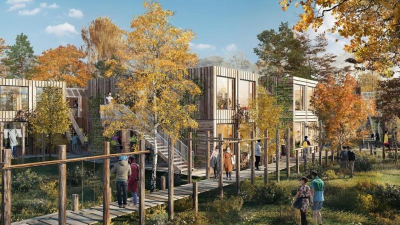 Københavnske studerende skal bo i træhytter i det grønne