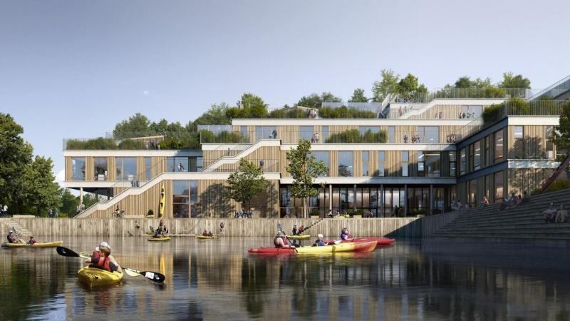 Ny skole på Sluseholmen skal være vartegn for København