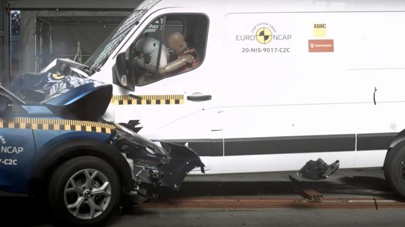 Euro Ncap ranglister varebilernes sikkerhed