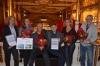Vinderteamet bag Skolen i Sydhavnen blev hædret på Nohr-Cons 'Konference om byggeri af fremtidens skole 2015'. Pressefoto.