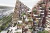 Den lokale udvikler Bricks står bag det kommende byggeri på Aarhus Ø. Visualisering: AART.