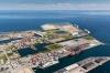 Kæmpeprojektet skal opføres i det ydre område af Nordhavn på et cirka 85.000 kvm stort areal ud mod anløbskajen til krydstogtsskibene. Illustration: H.C. Andersen Adventure Tower.