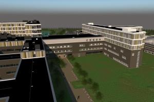 NCC skal opføre hovedbygningen på Gødstrup Sygehus