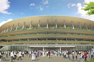Olympisk budskab til japanerne: Byg i træ