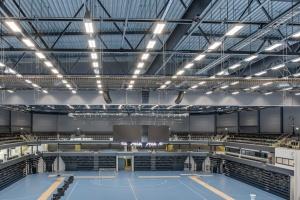 Fibertec bag ventilationsløsning i ny svensk sportshal