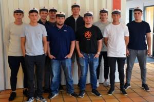 De første EUX-tømrere er færdiguddannet