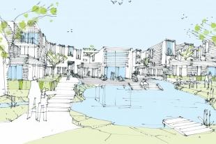 Frost Larsen vinder markant boligbebyggelse