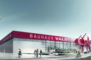 Bauhaus klar til åbning i Valby
