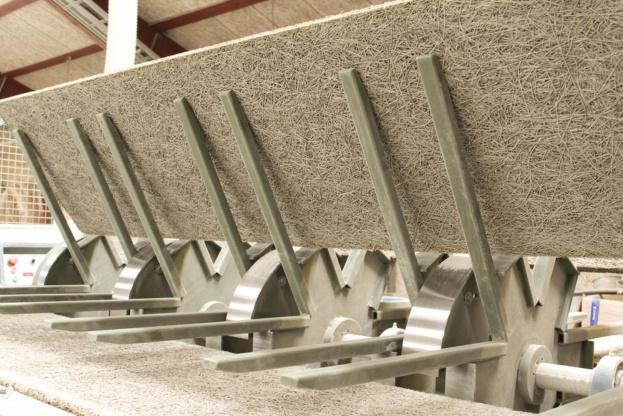 Troldtekt er en af de leverandører til byggebranchen, som er meget aktivt i forhold til Cradle to Cradle. Foto: Troldtekt.