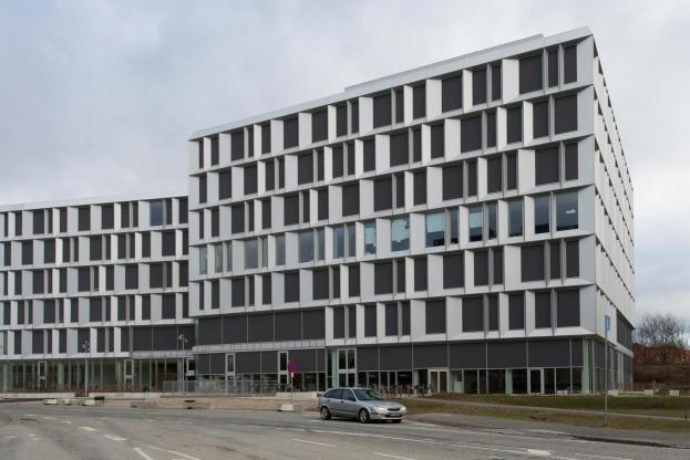 Microsofts nye domicil i Lyngby har en af Danmarks mest sofistikerede intelligente bygningsinstallationer med KNX fra ABB. Pressefoto.