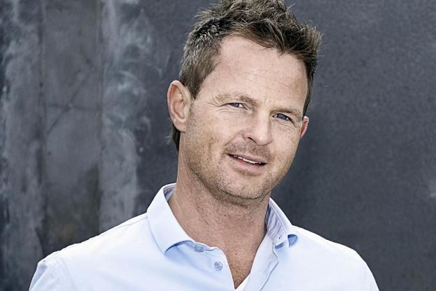 Carsten Mindegaard, ejer og adm. direktør i LM Byg, glæder sig over rekordresultat. Pressefoto.