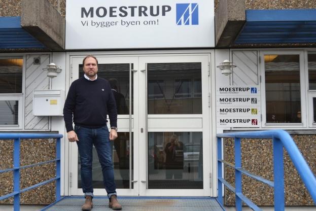 Niels Moestrup driver sin virksomhed i Tune ved Roskilde. Foto. Dan Bjerring.