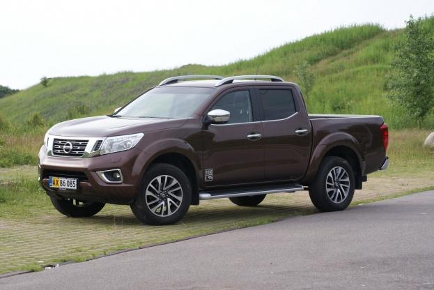 Nissan Navaras komfortable affjedring påvirker ikke bilens arbejdsevne.