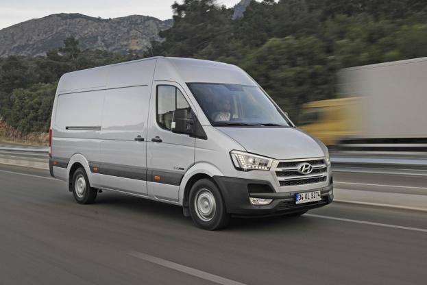 Hyundai H350 vil kunne fås i to udstyrsversioner: Trend og Premium.