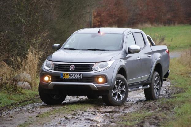 Fiat Fullback er en kompetent arbejdsvogn, der bygger på Mitsubishi L200.