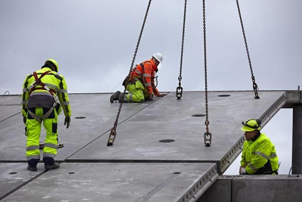 Abeo vil fremadrettet fokusere på at levere elementer til de mange boligbyggerier, der skyder op i Danmark. Foto: Byggeriets Billedbank.