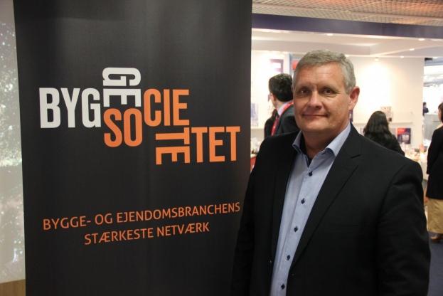 Der er endnu mere at hente for den danske branche, hvis opbakningen til det danske samarbejde øges, mener Tony Christrup, Byggesocietetet. Foto: Torben Jastram.
