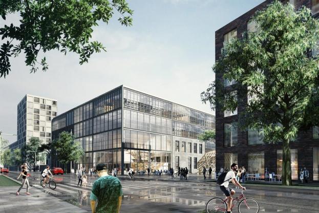 Den nye arkitektskole i Aarhus er budgetteret til i alt 261 millioner kroner og skal tegnes af den nye tegnestue Vargo Nielsen Palle. Visualisering: Vargo Nielsen Palle og ADEPT.