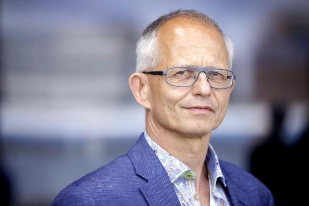 Formanden for Ingeniørforeningen, IDA Thomas Damkjær Petersen glæder sig over, at mange unge igen i år søger ingeniørstudiet via kvote 2. Foto: Henrik Frydkjær.