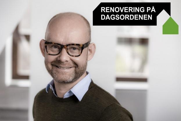 Arkitekt og projektleder Per Troelsen, Realdania By & Byg. Pressefoto.