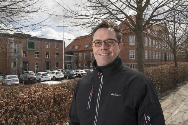 Administrerende direktør Søren Worup glæder sig til at fejre jubilæet med Færch & Co's ansatte.