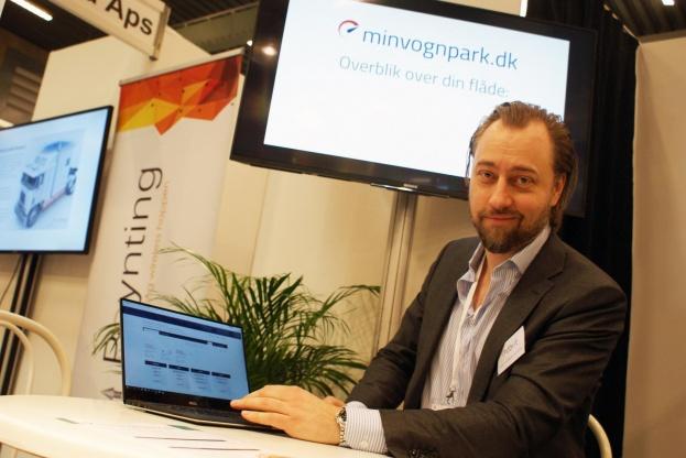 - Minvognpark.dk kan ses som et lille, hurtigt og attraktivt værktøj, siger Klaus Bernhof Jakobsen fra DBI-IT.