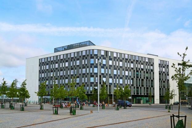 Deas, der har hovedkontor i Flintholm Company House på Frederiksberg i København, overtager nu administrationen af MT Højgaards portefølje af erhvervsejendomme. Pressefoto.