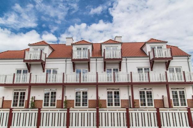 De seneste 100 år er der ikke blevet bygget nye badehoteller i Danmark, og det gør Strandhotellet Blokhus til et byggeri af helt særlig karakter. Pressefoto.