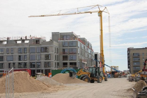 Ifølge Danmarks Statistik er 5.600 flere kommet i job i byggebranchen i løbet af det seneste år. Foto: Torben Jastram.