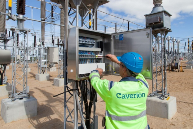 Energinet har hyret teknikentreprenøren Caverion til Apple-opgaven med at opbygge en højspændingsstation for Energinet, der blandt andet omfatter at trække alle signal- og styrekabler samt opstille og montere alle højspændingskomponenter, tavler og relæfelter