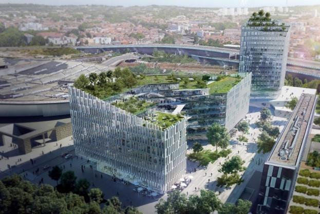 Det franske bud i Lille er tegnet af Henning Larsen Architects.