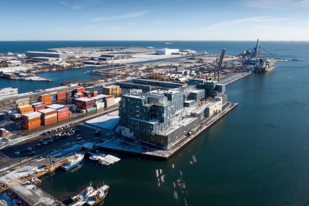 Arkitektfirmaet C.F. Møller har vundet Iconic Awards 2017 for Copenhagen International School. Pressefoto: Adam Mørk.