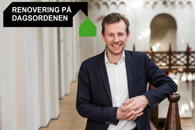 Jesper Malm er kommunikationschef i Bygherreforeningen. Pressefoto.
