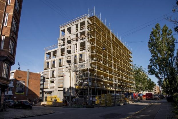 Byggeriet får 81 ungdomsboliger.