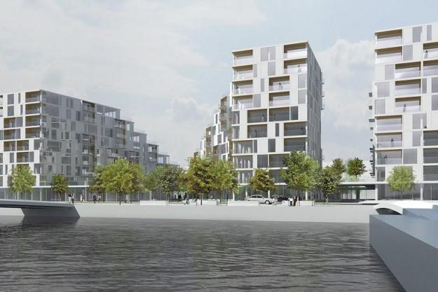 I løbet af efteråret genoptages byggeriet af Z-huset. Illustration: Sahl Arkitekter.