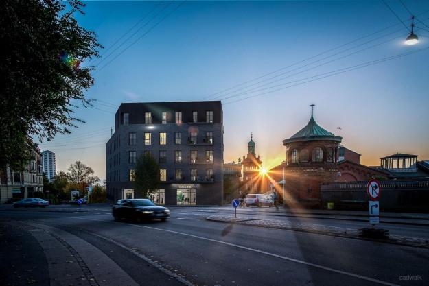 Henning Larsen bag eksklusive boliger i Carlsberg Byen