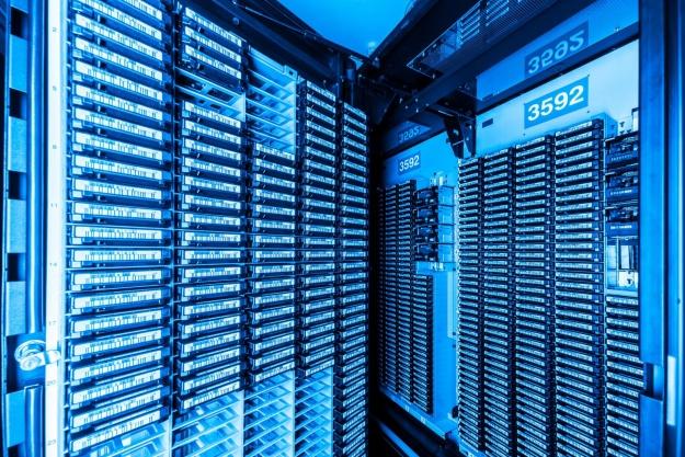 Stort datacenter med evaporativ køling