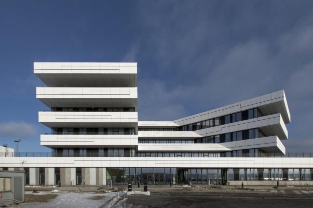 Nyt havnecenter i Aarhus er funktionel arkitektur