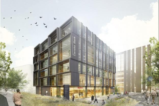 Arkitema tænker finansbygninger sammen