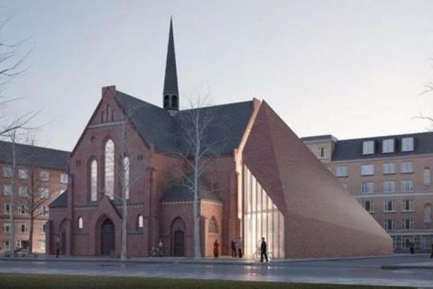 BIG skal stå for udvidelsen af Sct. Thomas Kirke i København