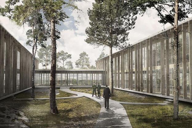 C.F. Møller vinder forsvarsbygning på Gotland