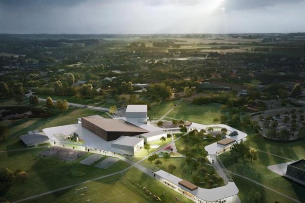 Tre arkitekter vinder idrætshaller i Karlslunde, Slagelse og Høng