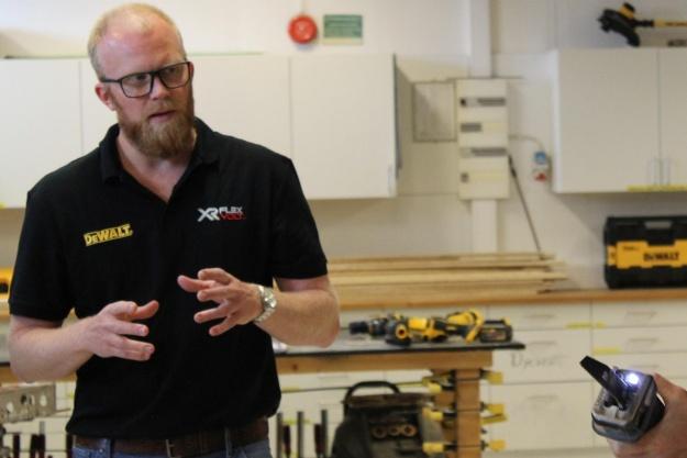 Danske håndværkere har testet nyt Dewalt-system i flere år